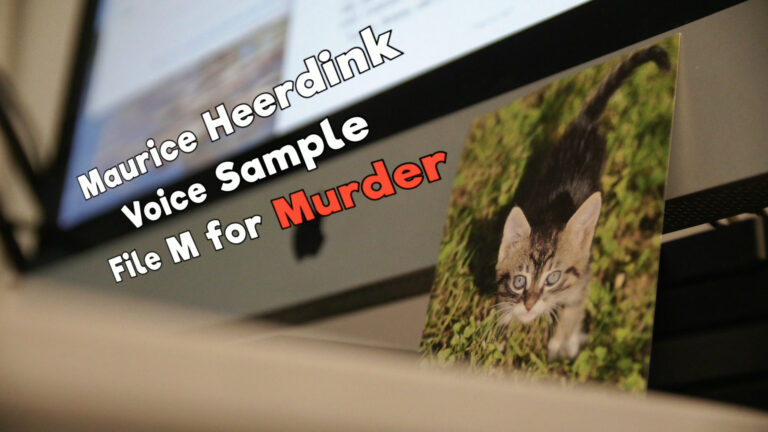 Voice Sample: File M for Murder